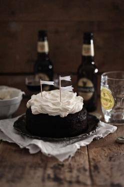 Guiness stout cake by Call me Cupcake http://call-me-cupcake.blogspot.se/2012/03/guinness-chocolate-cake.html: Guinness Chocolate, Sweet, Recipe, Cupcake, Chocolates, Food, Guinness Cake, Chocolate Cakes, Dessert