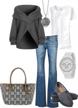 I love simple/comfy/clean.: Toms, Casual Outfit, Fashion, Purse, Style, Dream Closet, Bag, Fall Outfit, Fall Winter