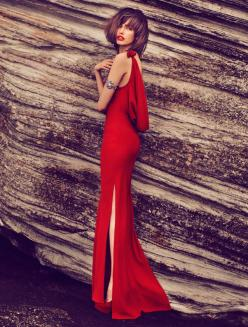 I need a place to wear this!: Fashion Quarterly, Style, Reddress, Dresses, Lady, Red Hot