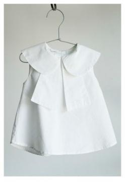 I would allow this white after labor day. Adorable!: Little Girls, Baby Girl Dresses, Baby Girl She, Baby Collar Dress, White Baby Girl Dress, Kids Clothes Boy, Baby Dresses, Baby Dress White