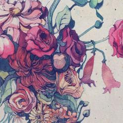 Ink and watercolor.: Tattoo Ideas, Watercolor Floral Flowers, Watercolor Tattoos, Tattoo Inspiration, Flower Sketch, Art, Watercolor Illustration, Watercolor Flowers, Pretty Tattoo
