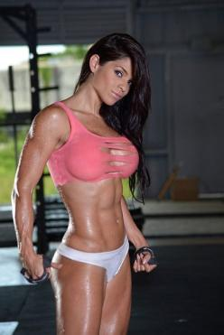 Interesting Bodybuilding Pin re-pinned by Prime Cuts Bodybuilding DVDs: The Worlds Largest Selection of Bodybuilding on DVD. http://www.primecutsbodybuildingdvds.com/DVD-Digital-Download-Women: Fitness Models, Fit Women, Sexy, Michelle Lewin, Michelle Lew