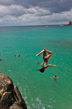 Jump!: Bucket List, Cliff Jumping, Adventure, Girl, Cliff Diving, Fun, Places, Summertime, Photo