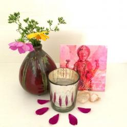 Love, Beauty, Abundance: Lakshmi sacred square on altar.: Idea, Altar List, Magickal Altars, Abundance Altar, Beautiful Altars, Altars Shrines, Pagan Altars, Inspiring Altars