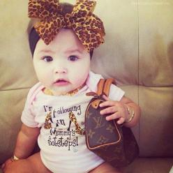 LOVE everything about this little fashionista!!!! <3: Babies, Girls, Babygirl, Stuff, Kids Fashion, Baby Girl, Diva, Baby Fashion