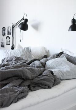 Love linen bedding? Check out the washed linen collection from Natural Bed Company - http://www.naturalbedcompany.co.uk/shop/bedding/linen-bedding/: Interior, Cozy Bedroom, Bedroom Style, Linen Bedroom