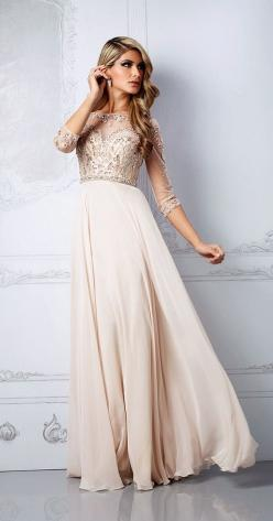 Love the detail on the bodice partnered with the simplicity of the skirt: Fashion, Formal, Style, Promdresses, Wedding Dresses, Sleeve, Prom Dresses