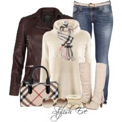 LOVE THESE BOOTS!! Stylish Eve is so fashion forward it gives me flip flops!! I seen these boots with a different outfit. I want these boots.  Stylish Eve 2013 Winter Outfits: Let it snow, let it snow, let it snow!: Outfit Ideas, Style, 2013 Winter, Fashi