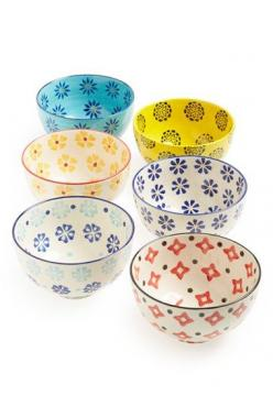 Love these cute bowls.  They would brighten up any kitchen.: Ideas, Nordstrom, Housewares Bowls, Pretty Bowls, Housewares Global, Ceramic, Signature Housewares