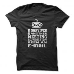 Meeting Survivor - Ya'll remember how much I despise meetings, aka parties without cake.: