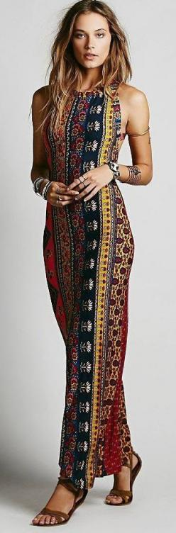 Midnight Rambler Maxi Dress Fashion: Maxi Dresses, Bohemian Outfit, Bohemian Pattern, Boho Dress