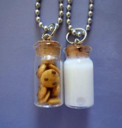 Milk and Cookie Best Friends Necklace by thegreatvorelli on Etsy, $17.00... i wanna get this for me and my sissy Jackie: Bff Necklaces, Best Friends Necklace, Bestfriends, Milk, Cookies Necklace, Bff S, Best Friend Necklaces, Friendship Necklaces, Bff Thi