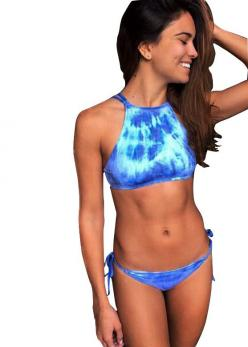 Ocean Blue Tie-Dye Bikini: Swim Suits 3, Sexy Bikinis, Teen Swimsuits, Blue Ties, Summer Bikinis, Swimsuit Lust, Clothing Swimsuits, Swimwear Prints
