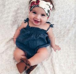 Oh my goodness!!! She is adorable!!!  And how precious is her look.: Baby Outfits, Babygirl, Boho Baby, Erikalozzibaby Sfashion, Girl Style, Baby Girls, Cute Babies