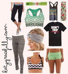 OMG LOL i think pinterest has my closet lol !!! again something i would wear and actually have! Cute workout clothes stay fit healthy and workout: Training Outfit, Workout Outfit, Stay Fit, Sexy Gym Outfit, Fit Healthy, Clothes Stay, Gym Cloth, Workout Cl