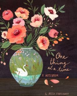 One Thing at a Time Book - Becca Stadtlander: Time, Stadtlander Illustration, Illustrations, Art, Notebooks, Floral, Flower