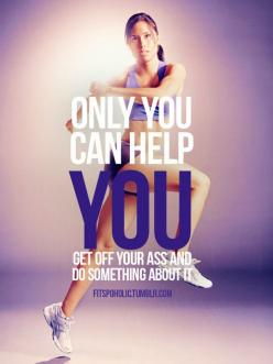 Only you: Help, Quotes, Weight Loss, Lose Weight, Fitness Inspiration, Exercise Workout, Healthy, Fitness Motivation, Weightloss