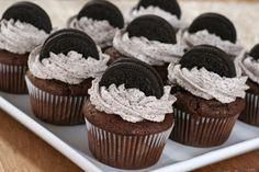 Oreo Recipes-Oreo Cupcakes