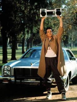 "Say Anything "" What I really want to do with my life - what I want to do for a living - is I want to be with your daughter. I'm good at it."": 80S Movie, 80 S Movie, Favorite Movies, Sayanything, John Cusack, Things, Lloyd Doubles, Eye, Say Any"