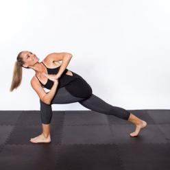 The Best Yoga Poses for Flat Abs  http://www.shape.com/fitness/workouts/best-yoga-poses-flat-abs: Warrior Lunge, Flat Abs, Lunge Twist, Shape Magazine, Yogaposes, Yoga Poses, Flats, Workout