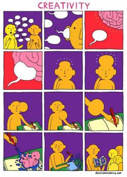 The Birth Of Creativity // funny pictures - funny photos - funny images - funny pics - funny quotes - #lol #humor #funnypictures: Ideas, Creative, Stuff, Funny Pictures, Art, Funny Quotes, Creativity, Dorris Mccomics, Design
