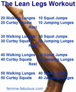 The Lean Legs Workout   I know these work.. So im interested to see If this workout plan works!!!! -  Thanks for sharing - love this!!: Legs Workout, Lean Leg Workouts, Lean Legs, Lower Body, Fitness, Work Outs, Exercise, Health