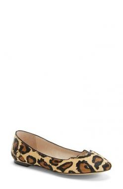 The perfect leopard flats! I've been searching for these | Sam Edelman 'Alaine' Scalloped Topline Flat (Women) available at #Nordstrom: Ballet Flat, Sam Edelman, Topline Flat, Edelman Alaine, List, Flats, Scalloped Topline