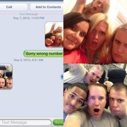 The Selfie: | 27 Perfect Ways To Respond To A Wrong Number Text HAHA they wrong numbered military guys. What a great way to respond. LOL: Funny Texts, Funnytext, Numbers, Funny Stuff, Funnies, Humor