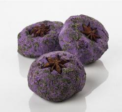 The Witches' Ball - A blend of herb and spice essential oils gives The Witches' Ball a crisp, Autumnal fragrance that's perfect at this time of year. Sage, myrrh, peppermint, rosemary, parsley and clove all combine for a bewitching bathtime experience