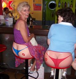 too funny.. these are chairs, not their rear ends showing! / I had to do a double take at 1st... looks real in the small pic!!!: Barstools, Idea, Chairs, Funny Stuff, Humor, Funnies, Bar Stools, Things