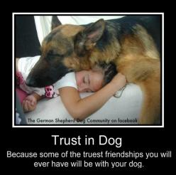 Trust in Dog: Because some of the truest friendships you will ever have will be with your dog.: Truest Friendships, German Shepards, Best Friends, True Friendships, Pet, German Shepherds, Shepherd Dogs, Gsd, Animal