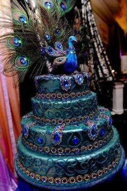 Wow. Just wow. I would never want to eat - http://www.fullofsweets.info/wow-just-wow-i-would-never-want-to-eat/: Peacocks, Amazing Cakes, Peacock Wedding, Wedding Cakes, Beautiful Cake, Awesome Cake, Weddingcake, Peacock Cake