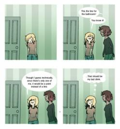 11 Comics Every Introvert Will Understand  Oh goodness, I say things like this! Lol: I M, 11 Comics, Introvert Comics, Introverts Comics, Funny Stuff, Funnies, Funny Girls, Drinks