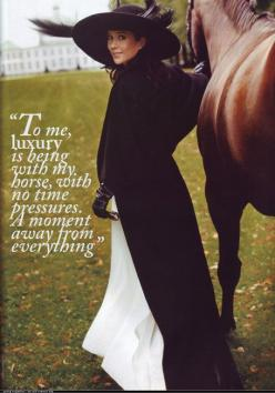 """To me, luxury is being with my horse, with no time pressures. A moment away from everything."": Luxury, Equine, Horse Quotes, Horses, Time Pressures, Crown Princess Mary, Denmark, No Time"