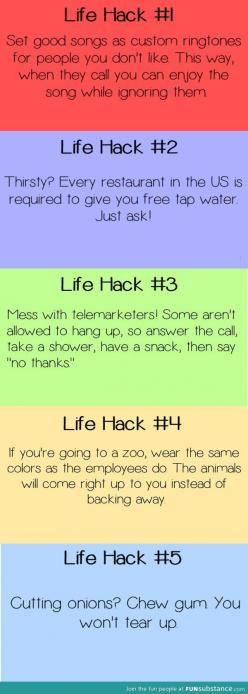5 life hacks....the only one I care about here is the Zoo one. Who wants to get a zookeeper costume with me and have the best day of your life??: Tips Hacks, Idea, Zookeeper Costume, Hacks Tips, The Zoo, Hacks ️, Life Hackss, Life Hacks The, Lifehacks