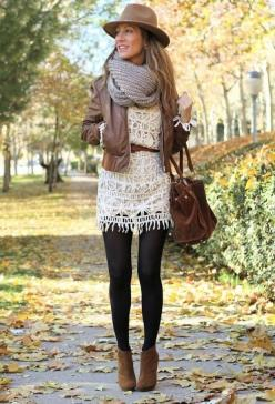 55+ Fall Outfit Ideas - Page 2 of 2 - This Silly Girl's Kitchen: Summer Dress, Outfit Ideas, Fall Style, Winter Outfit, Fall Outfits, Booties Outfit