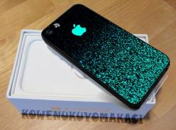 Apple Mint Sparkle for iPhone 5 iPhone 5S Case by KOWENUKUYOMAKACI, $14.50: Apple Iphone Case, Awesome Iphone Case, 5C Case, I Phone 5S Case, Mint Sparkle, Iphone 5S Case, Iphone5