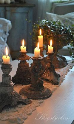Beautiful Things...: Idea, Atelje Skogslyckan, Candlesticks, Candlelight, Candle Holders, Candles Lanterns