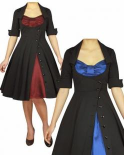 Blueberry Hill Fashions : Plus Size Rockabilly Dresses | Super Cute| Blueberry Hill Fashions: Plus Size Coat, Gryffindor Outfit, Plus Size Christmas Dress, Plus Size Rockabilly Dress, Fashion Plus Size, Rockabilly Dresses, Hill Fashion, Plus Size Christma