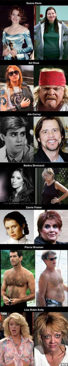Celebrity Then & Now pictures