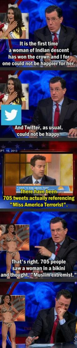 Dump A Day Funny Pictures Of The Day - 95 Pics: Giggle, Funny Pictures, Funny Stuff, Funny Quotes, Colbert Can T, Muslim Extremist, Stephen Colbert Funny