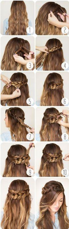 easy hairstyles for school for teenage girls - Google Search: