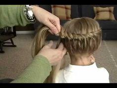 great tutorial for little girls-Once you learn, you can do different variations.