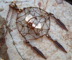 "~ Healing Crystal ~""~: Crystals And Stones Jewelry, Dream Catchers, Quartz Dream, Wire Wrapped Crystal, Diy Crystal Jewelry Wire Wrap, Healing Crystals Jewelry"
