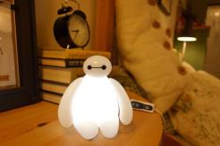 I need this....ughhhhBig Hero 6 Baymax USB LED Lamp Nightlight: Lamps, Heroes, Baymax Lamp, Led Lamp, Bighero6, Big Hero 6