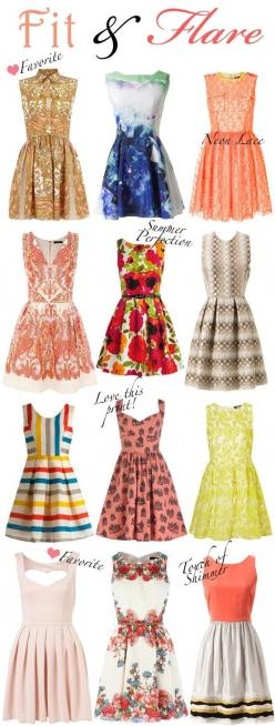 I want all of these by TinyCarmen Love all if these! I think I was born in the wrong decade bc of my style likes lol find more women fashion ideas on www.misspool.com: Retro Dress, Fit And Flair Dress, Cute Dress, Flare Dresses, Cute Summer Dress