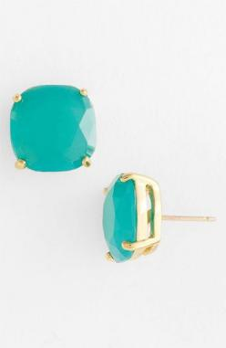 kate spade new york stud earrings | Nordstrom $38  {in case you wanted to know what to get me for my birthday, for Christmas, just because you want me to feel pretty - you could get me these in different colors EVERY SINGLE TIME and i would love you SO VE