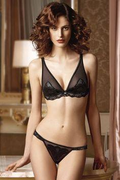 Lingerie:  Lise Charmel Holidays Sensual #Lingerie Collection.