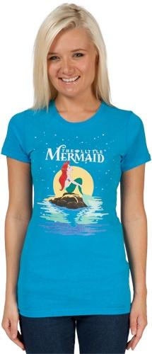 Little Mermaid Shirt: Adult Juniors, Little Mermaids, Fashion, T Shirt, Style, Shirts, Little Mermaid Shirt, 80S Movies, Products