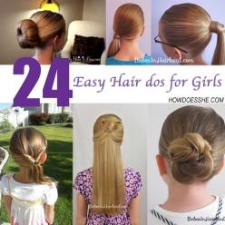 Need some quick and easy ways to make your girls' hair looking cute, yet still get them out the door in time?  Here's our latest finds!  1-3.  My old: Easy Hair, Hair Ideas, Hair Dos, Hairstyles, 24 Easy, Hair Styles, Hairdos, Girls Hairstyle